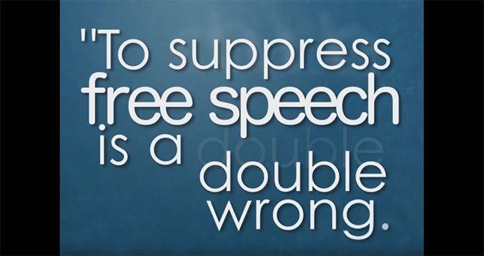 Frederick Douglass on Free Speech