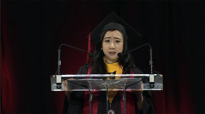 Chinese Student Takes Heat for Defending Freedom of Speech