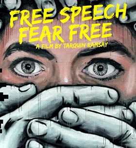 Free Speech Fear Free by Tarquin Ramsay