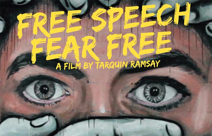 2017 Free Speech Award Winner Tarquin Ramsay Reflects on the Making and Aftermath of Free Speech, Free Fear
