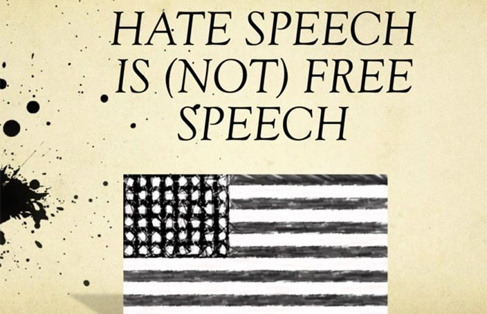 Hate Speech Is Not Free Speech
