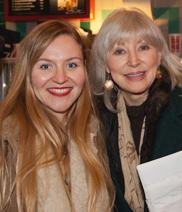 Director Natasha Fissiak (left) and Writer/Producer Carole Keeney Harrington (right).