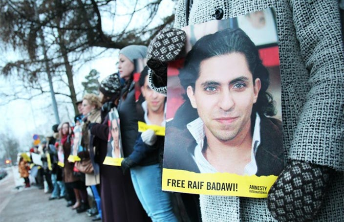 Raif Badawi Wins the Freedom to Publish Prize