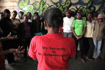 In response to Charlotte Campbell's case and Judy Rymer's film, women's empowerment groups have sprung up throughout Kibera.