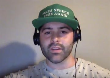 Andrew Torba speaks about the future of Gab in a YouTube video.