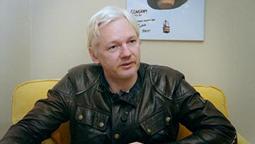 Ramsay says his conversation with Assange compelled him to explore the meaning of Free Speech even further.