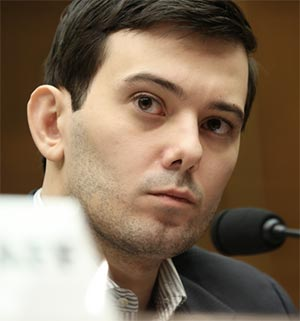 Martin Shkreli was banned from Twitter for publicly harassing journalist Lauren Duca after she allegedly refused to accompany him to Donald Trump's inauguration.