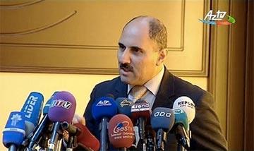 Azerbaijan journalist Azer Hasret