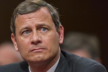 Chief Justice John G. Roberts has a history of working to restrict voting rights.
