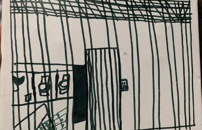 Art by Child Detainees Depicts Stark Conditions