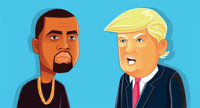 Kanye West's Presidency Stunt