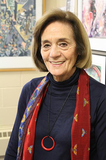 Sondra Myers, author and lecturer of arts, humanities and civil society.